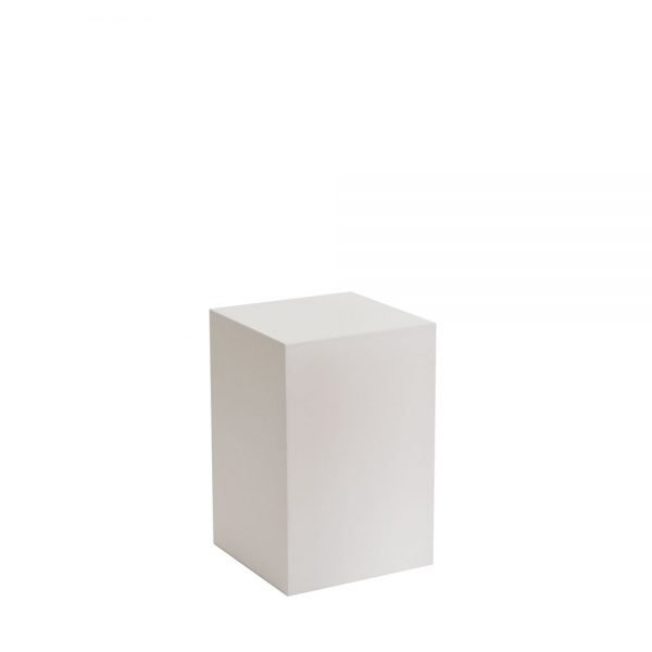 White Plinth by Exhibition Plinths