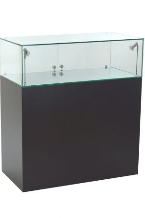 Black-Plinth-Glass-Cabinet-by-Exhibition-Plinths