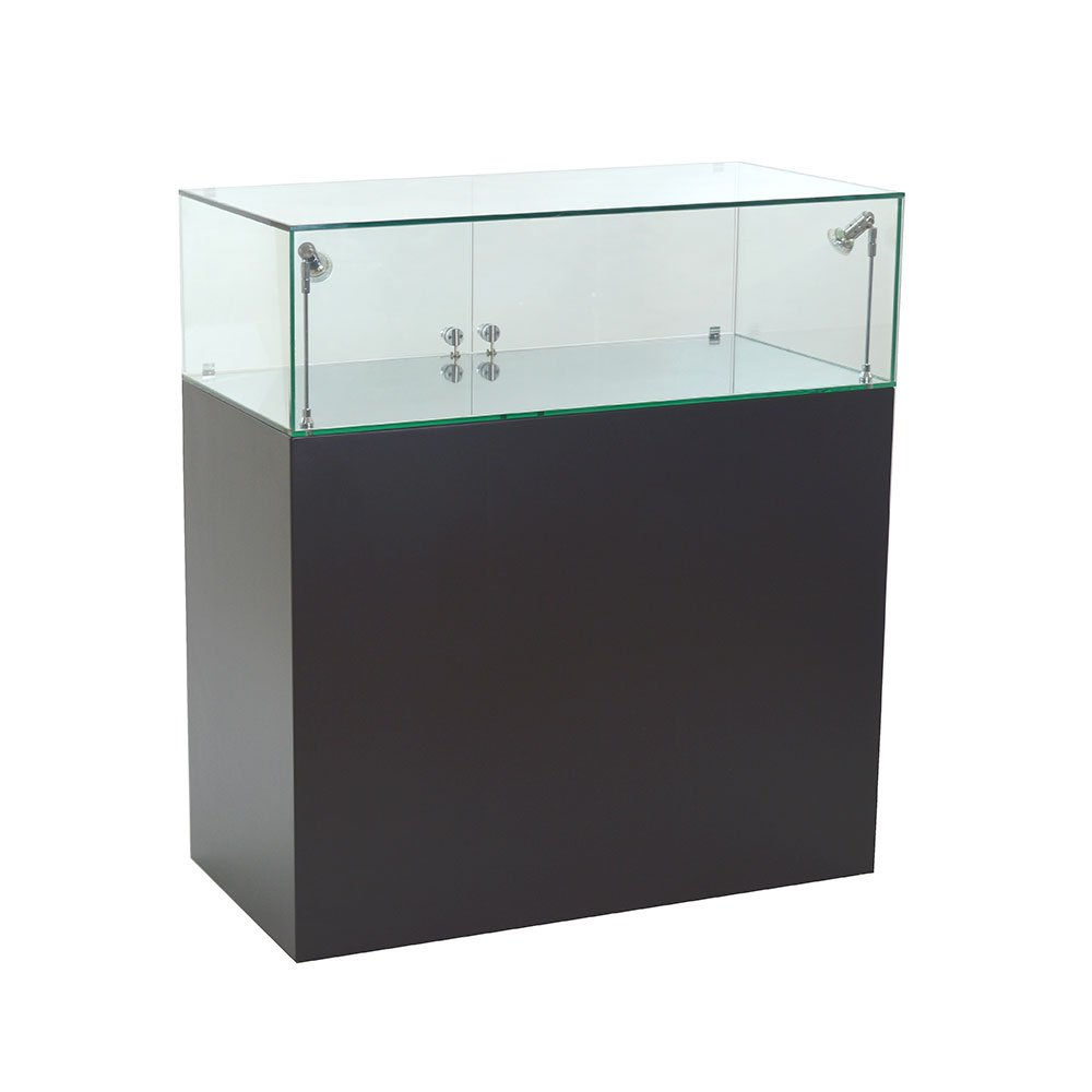 Exhibition Display Cabinets : Lockable glass display cabinet