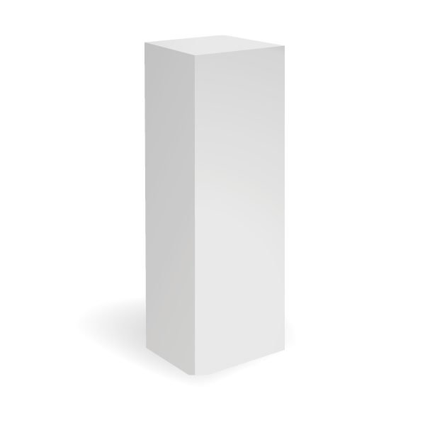 exhibition_plinths_white_plinth_30x30x100