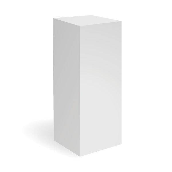 exhibition_plinths_white_plinth_40x40x100