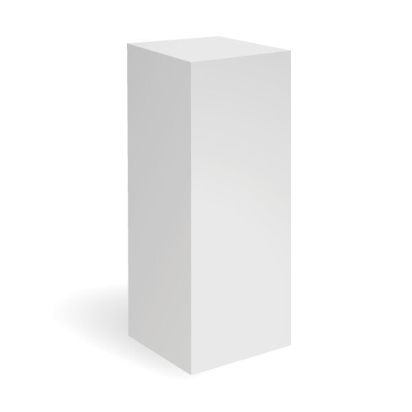 exhibition_plinths_white_plinth_40x40x100