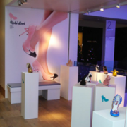 Kobi Levi Shoe Display