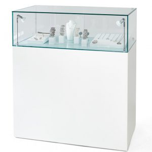 100cm Glass Display Cabinets