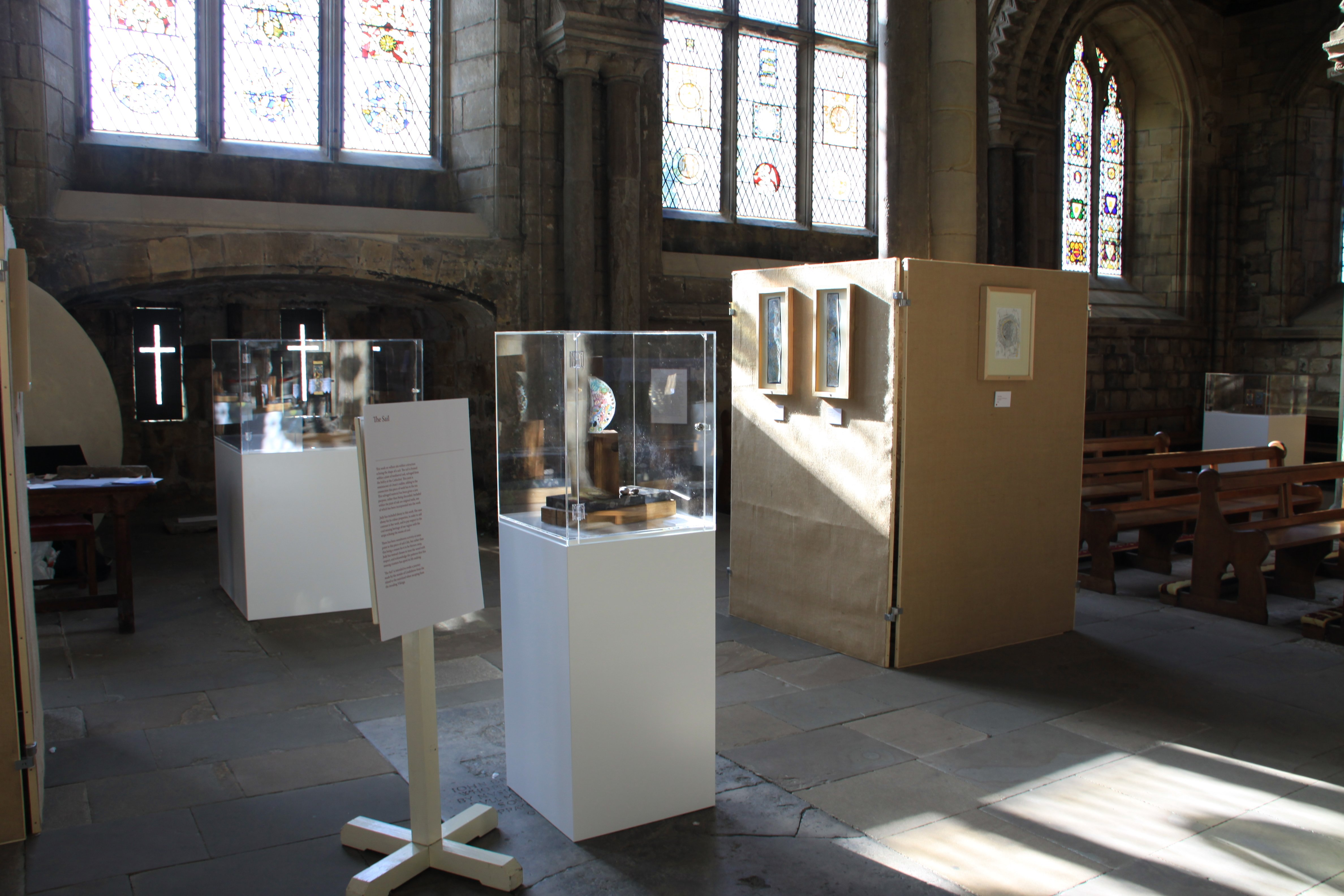 Exhibition Display Cases : Acrylic display cases durham cathedral