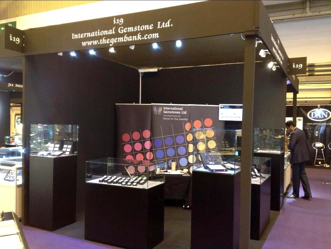 Display Stand Hire London : International jewellery show london