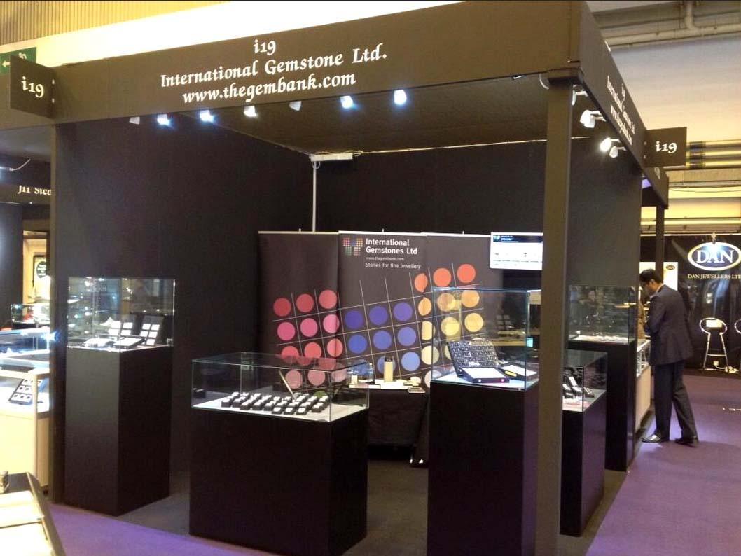 Corner Exhibition Stands Hire : International jewellery show london