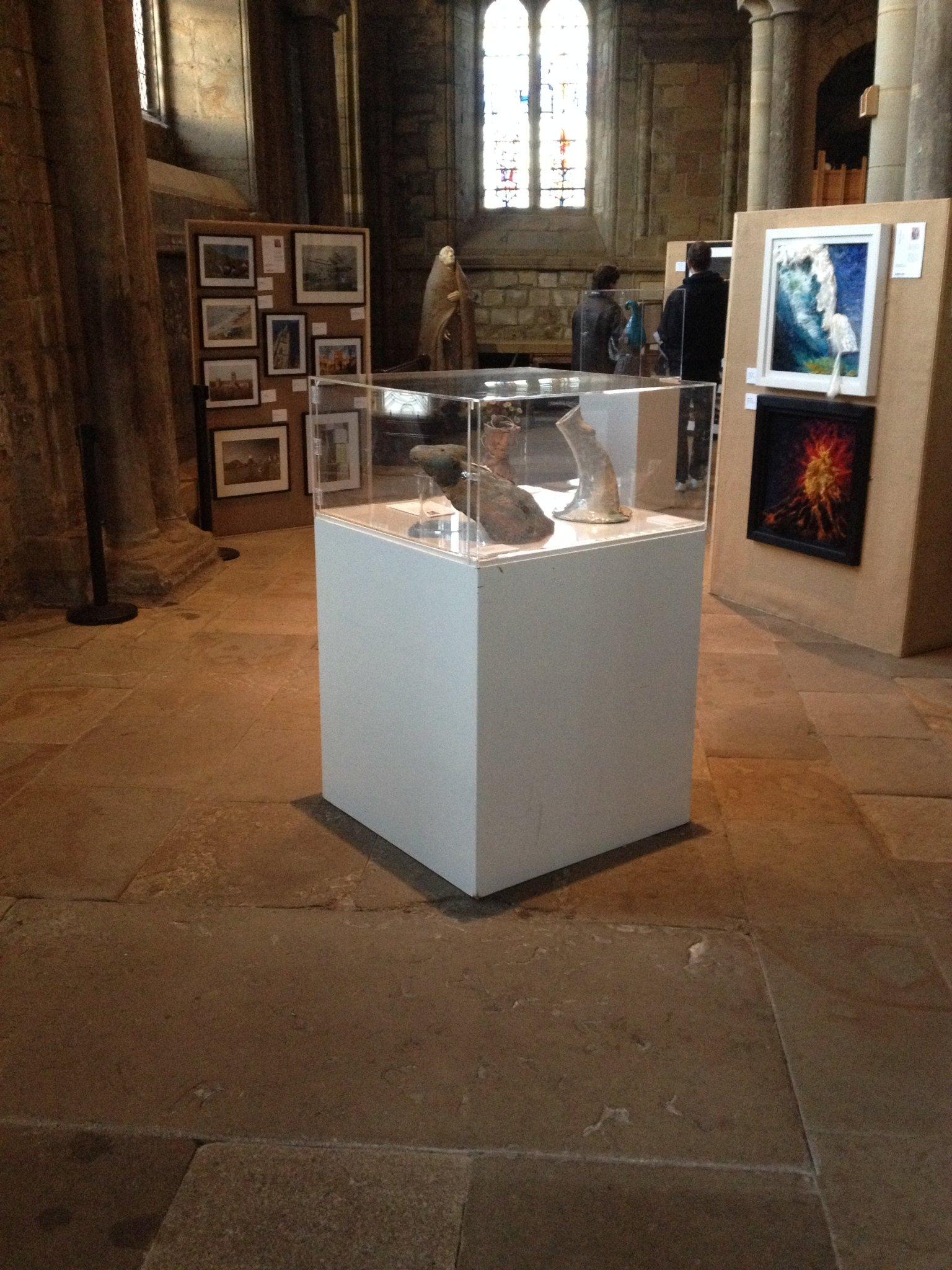 Exhibition Display Cabinet : Acrylic display exhibitionplinths