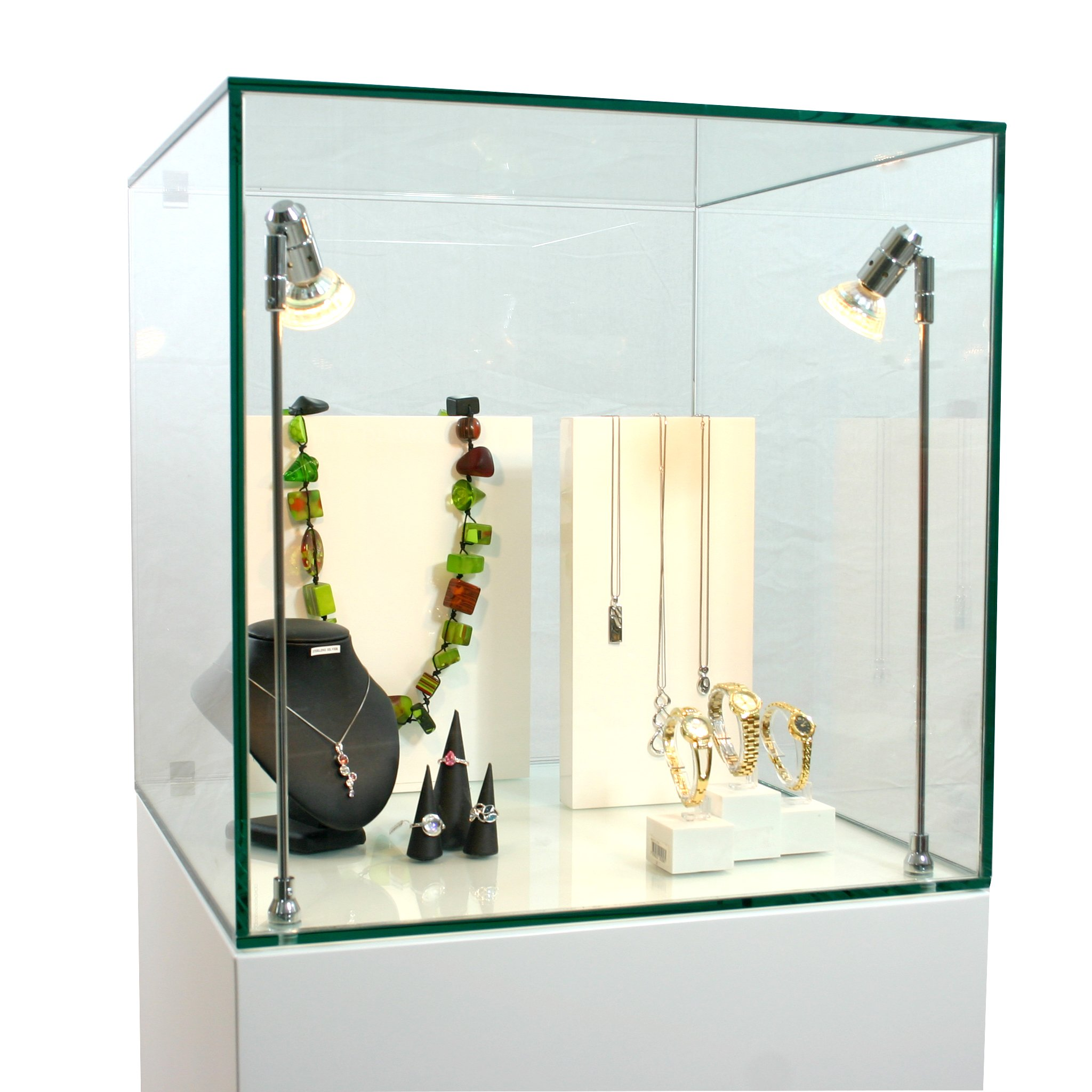 Exhibition Display Cases : Glass cabinet hire exhibitionplinths