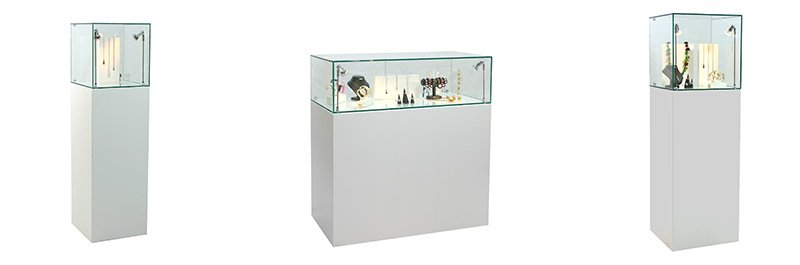 Exhibition Display Stands For Hire : Hire glass display cabinets