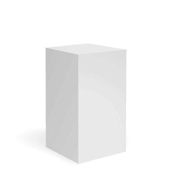 exhibition_plinths_white_plinth_50x50x80