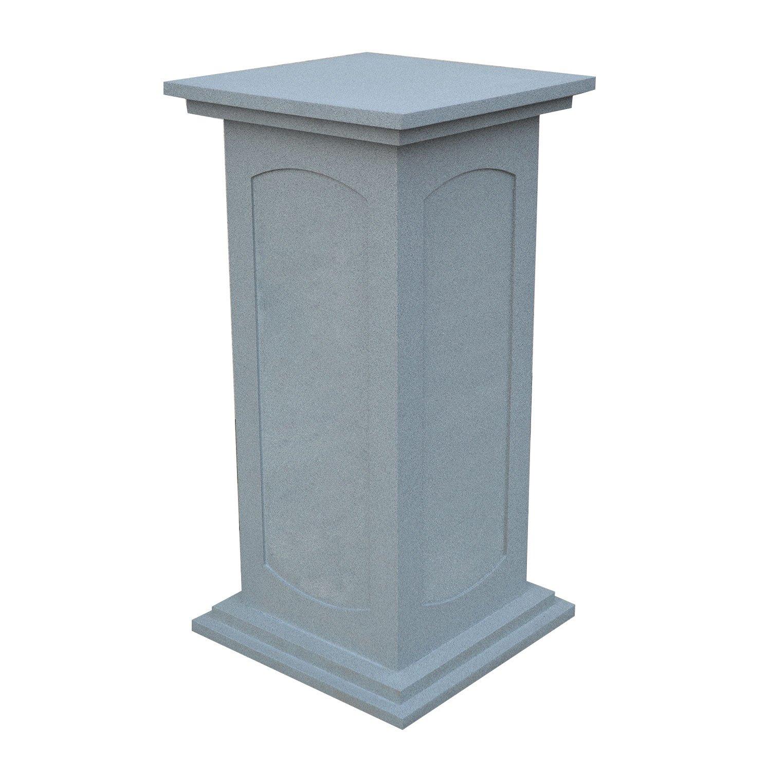 Stone Effect Wooden Plinth Exhibitionplinths Co Uk