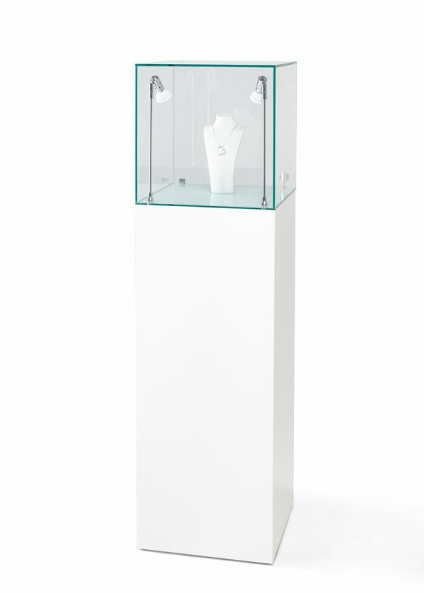 40cm-glass-display-cabinet-hire-exhibition-plinths