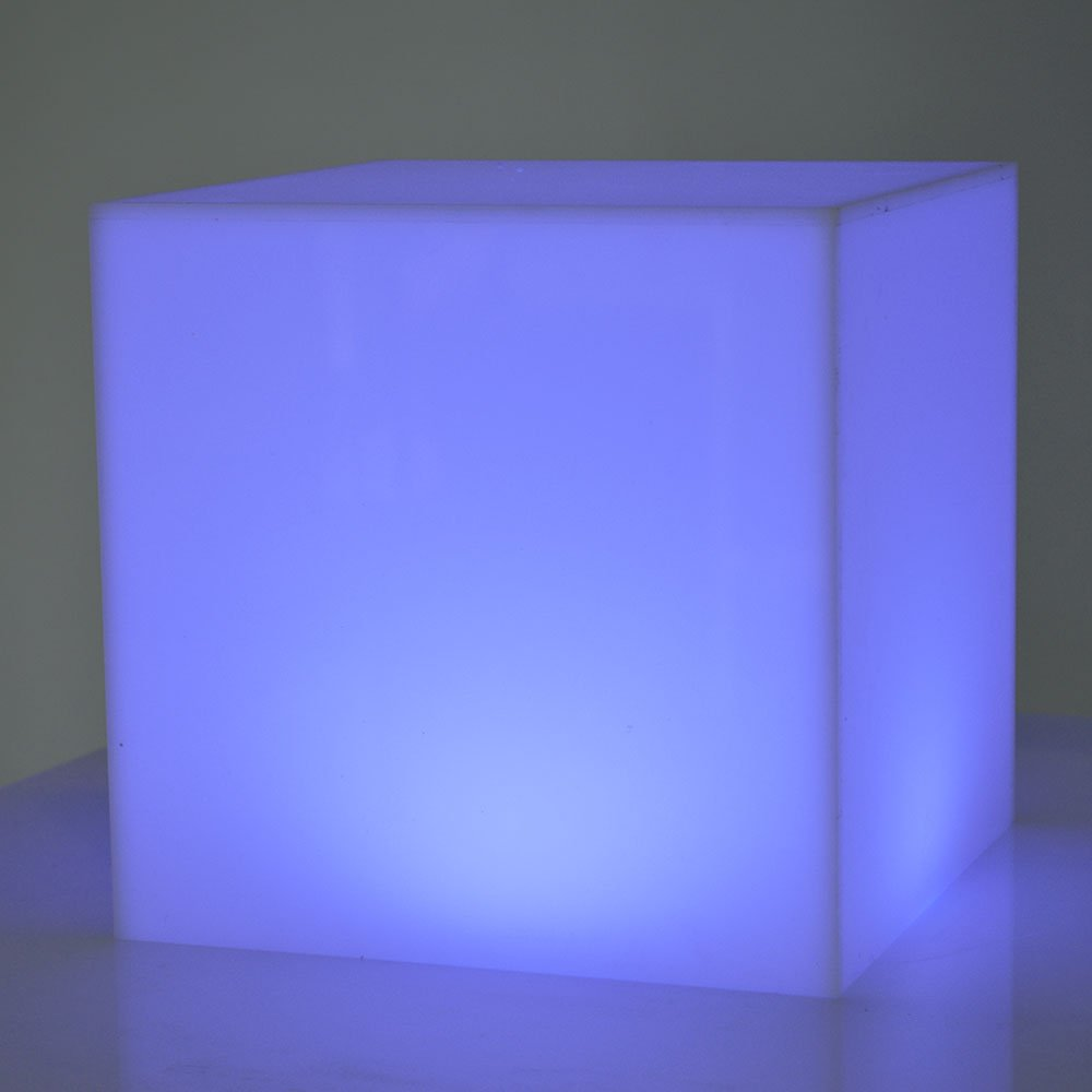 Exhibition Stand Items : Opal acrylic light box by exhibition plinths