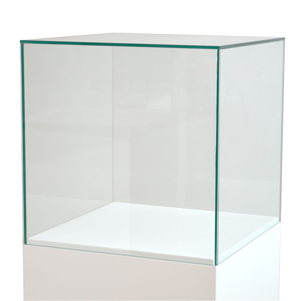 5 Sided Glass Cabinets   Exhibition Plinths
