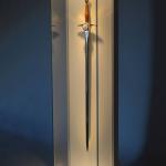 Sword Glass Display Cabinet