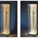 Sword Glass Display Cabinet