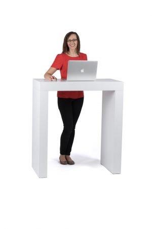 1m Standing Desk Exhibition Plinths