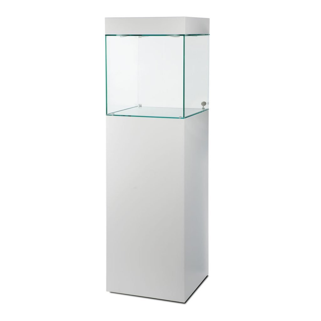 corner glass cabinet